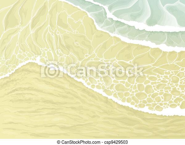 Sand beach - csp9429503