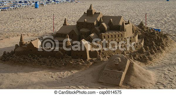 sand castle - csp0014575