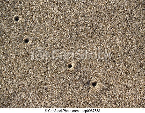 Sand Closeup w Airholes - csp0967583