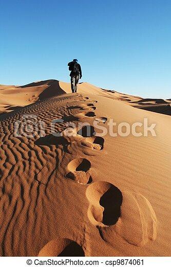 Sand desert - csp9874061
