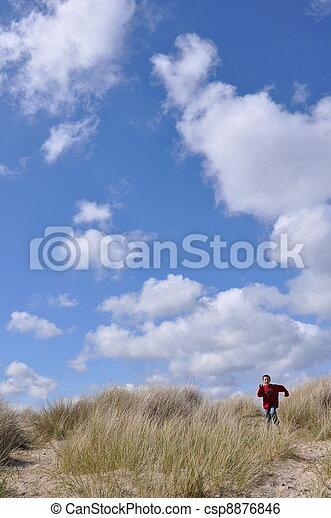 Sand Dunes at Studland - csp8876846