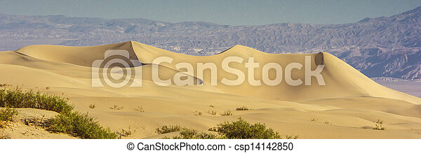 Sand Dunes in the Morning - csp14142850