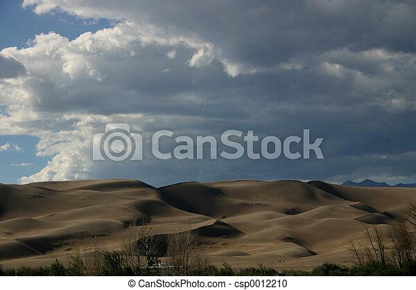 Sand Dunes - csp0012210