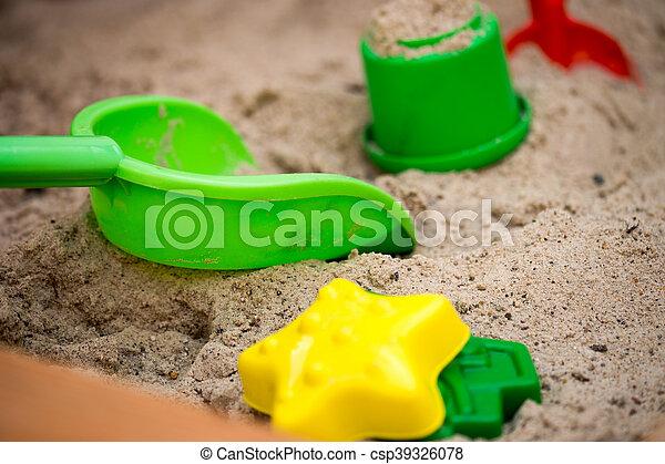 Sand toys - csp39326078