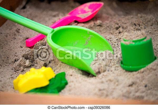 Sand toys - csp39326086