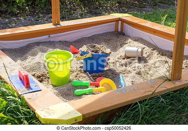 Sand toys - csp50052426