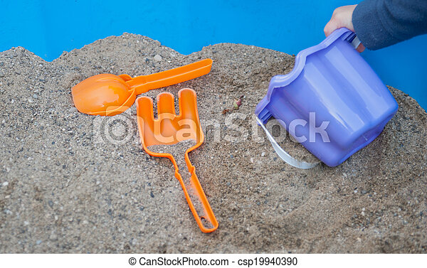 Sand toys - csp19940390