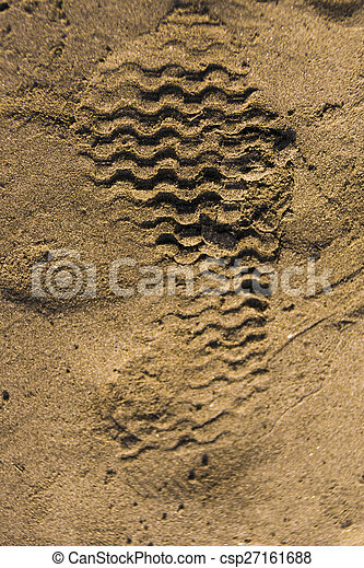 sand, track, nature, outdoors, summ - csp27161688