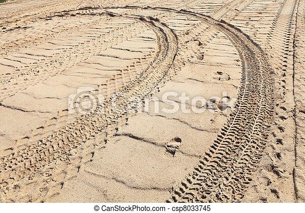 sand track - csp8033745