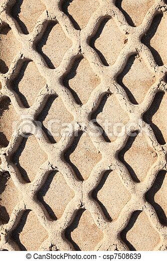 sand track - csp7508639
