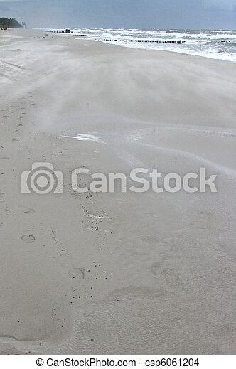 sandstorm on the beach - csp6061204