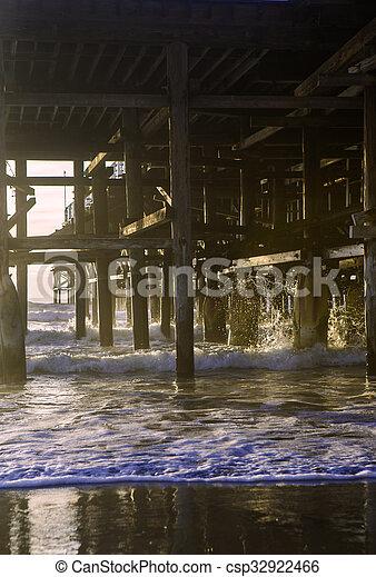 Pacific Beach Pier - csp32922466