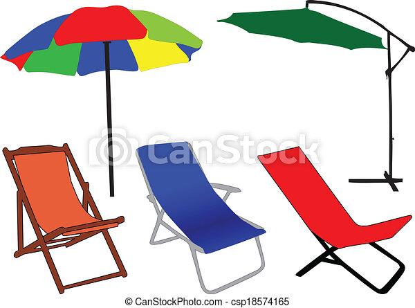 Sonnenstuhl clipart  Sandstrand, sonne, stuhl, schirm, deck.
