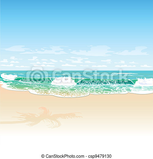 sandstrand - csp9479130