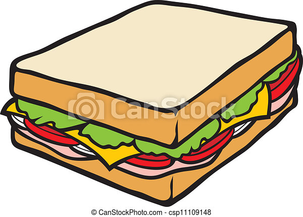 sandwich eps vector search clip art illustration drawings and rh canstockphoto com sub sandwich clipart egg sandwich clipart