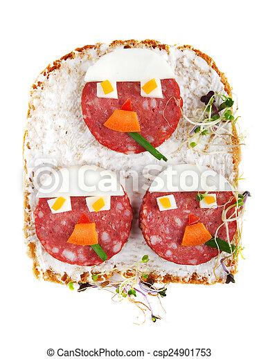 Sandwich for kids - csp24901753