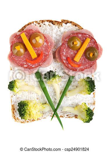 Sandwich for kids - csp24901824