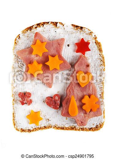 Sandwich for kids - csp24901795