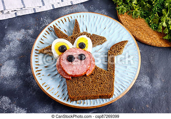 "Sandwich ""Merry Goby"" 3 - csp87269399"