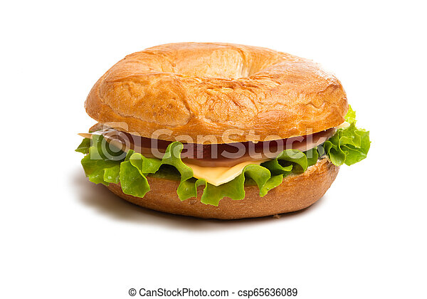 sandwiches isolated - csp65636089