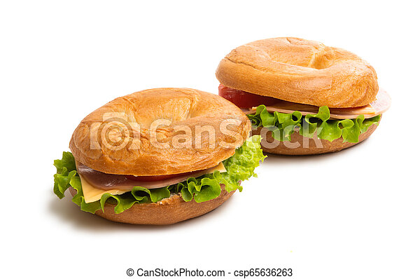 sandwiches isolated - csp65636263