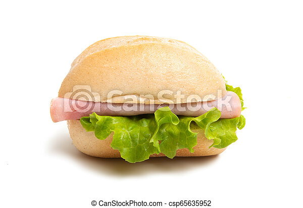 sandwiches isolated - csp65635952