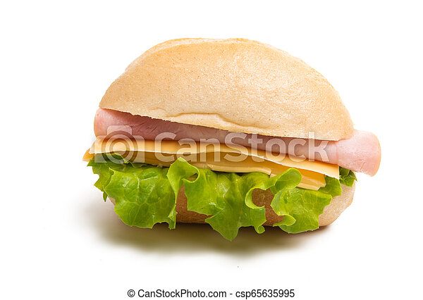 sandwiches isolated - csp65635995