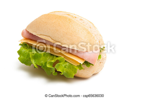 sandwiches isolated - csp65636030
