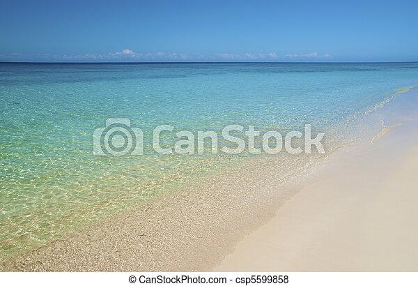 Sandy beach - csp5599858