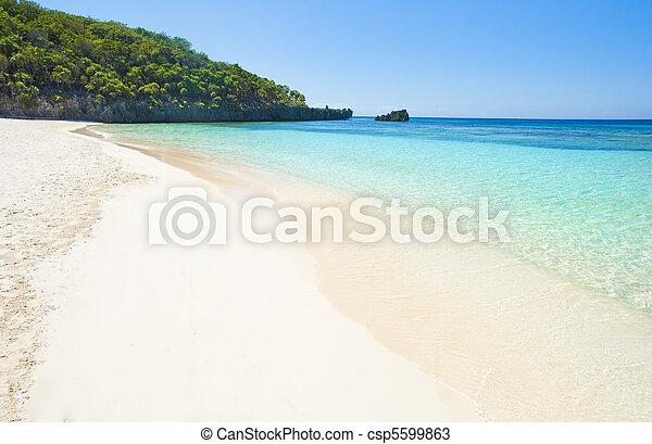 Sandy beach - csp5599863