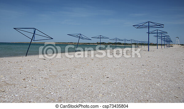 Sandy coast of the Black Sea - csp73435804