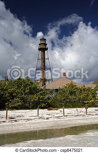 Sanibel Light   Csp8475021