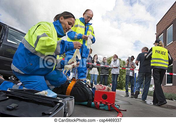 sanitäter - csp4469337