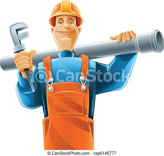 sanitary technician with tube - csp6145777