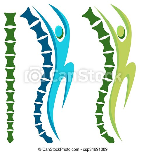 Espina activa saludable - csp34691889