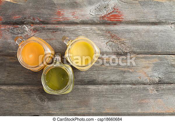 sano, frutta tropicale, rinfrescante, succo - csp18660684