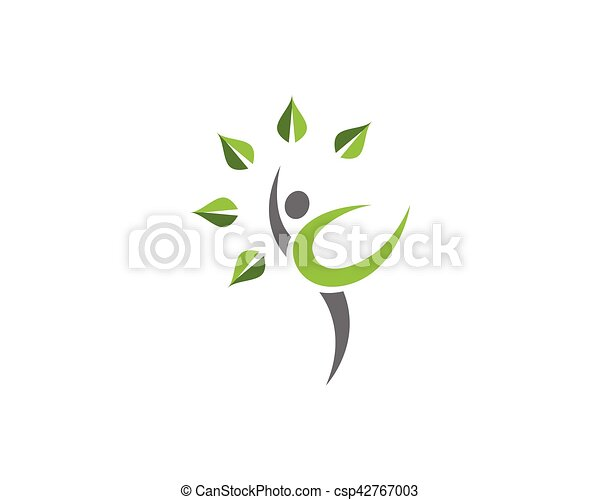 sano, logotipo, vita - csp42767003