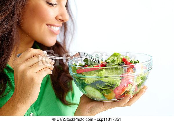 Nutrición saludable - csp11317351