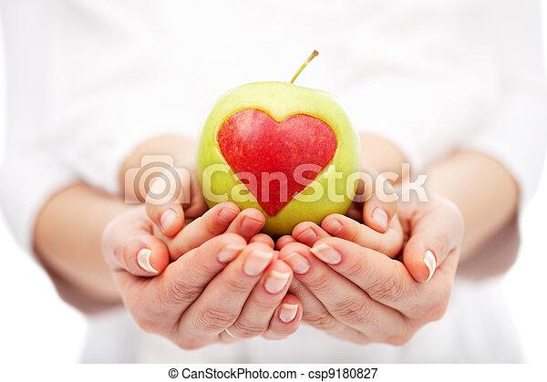 Ayudar a los niños a una dieta saludable y a la vida - csp9180827