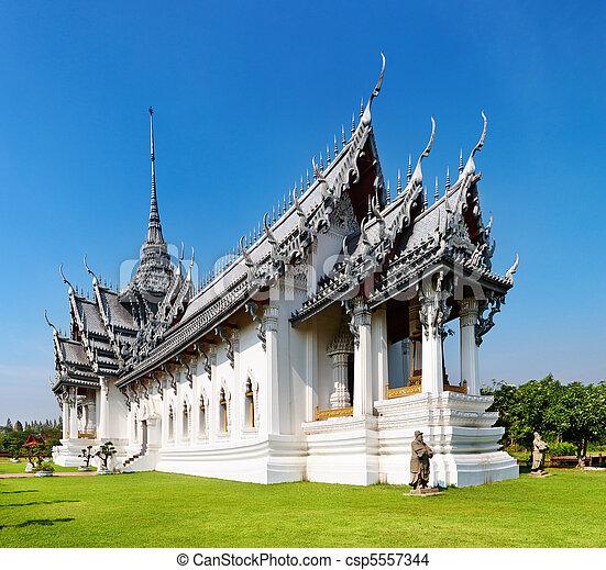 sanphet, palazzo, prasat, tailandia - csp5557344
