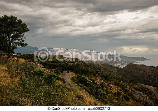 sant, rodes, catalonia, pere, de, spanien - csp50932713
