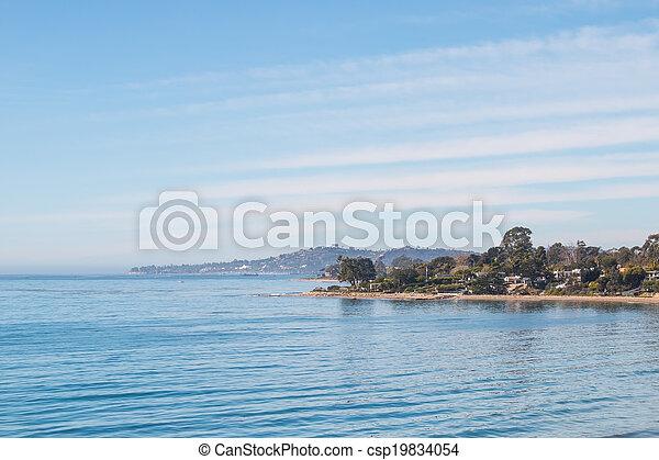 Santa Barbara Cove - csp19834054