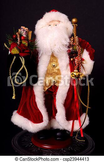 Santa Christmas Figure - csp23944413
