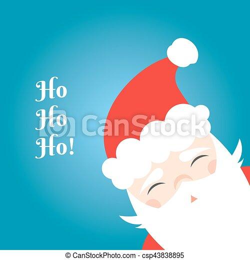 Santa Claus background - csp43838895