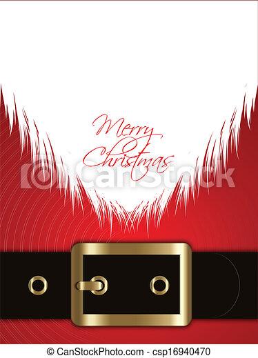 Santa Claus background - csp16940470