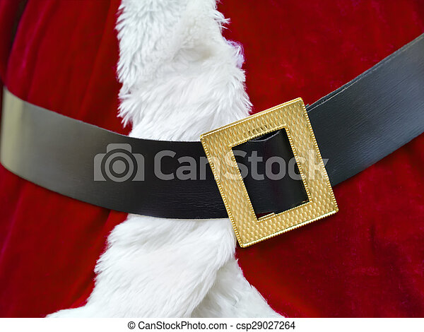 santa claus belt csp29027264 - Santa Claus Belt