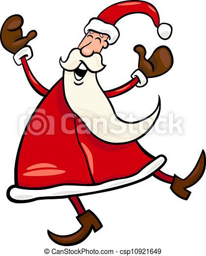 La ilustración de Santa Claus - csp10921649