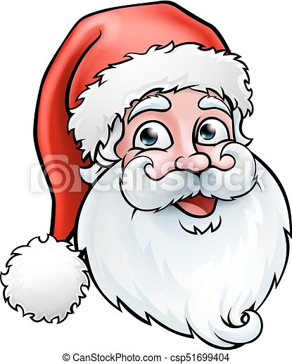 Christmas Cartoon Drawings.Santa Claus Christmas Cartoon