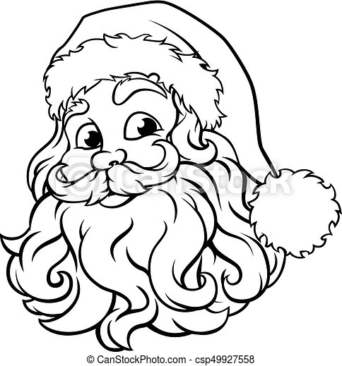 santa claus christmas illustration christmas santa claus clipart