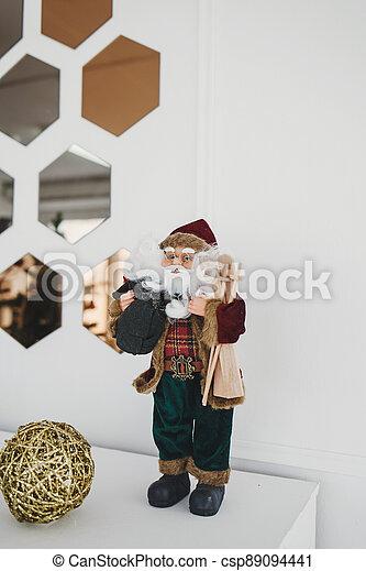 Santa Claus Christmas toy - csp89094441